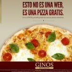 Hasta 3 Pizzas en Ginos enviando un simple SMS de tan solo 1,42€ ¡Ven a probarlo hasta el 5 Junio de 2011!