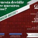 Ginos cenas a 2×1 al estilo del VIPs: Promoción Indecisos.