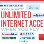 Gogo ofrece Internet en USA en vuelos comerciales mejorando las soluciones via satélite, reduciendo costes y permitiendo hasta 10MB de conexión a los pasajeros.
