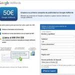 Google te crea tu propia campaña y te regala entre 50 y 100€ de saldo para que anuncies tu negocio.