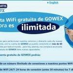 Gowex: Wifi gratuito en miles de sitios. Un producto interesante si tenemos cobertura en la zona dónde residimos.