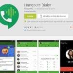 GOOGLE Hangouts permitirá llamar a móviles españoles 1 minuto sin coste si recargamos saldo en su servicio. 25 países compatibles.