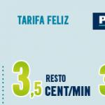 Happymovil mejora su tarifa Feliz de 4ct/min a 3,5ct/min con 300MB gratis con cons. mínimo 4,99€/mes.
