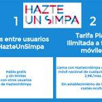 Hazteunsimpa mejora su cuota mensual de VOZ IP: 2,9€/mes.