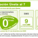 Hits Mobile 9c/sms 9c/min 24 horas: Una tarifa superior a SIMYO.