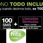 Hits Mobile intenta competir con las tarifas de Orange con llamadas internacionales incluso a móvil en Europa por 33,9€/mes con 2GB.