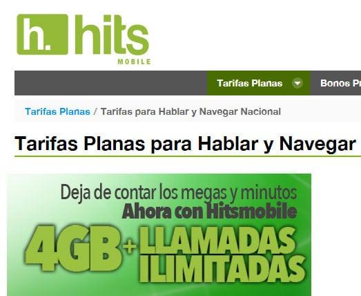 hitsmobilelanza4gbilimitadaspor25euros