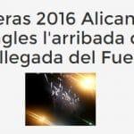Las hogueras de Alicante: L'arribada del Foc por El Corte Ingles