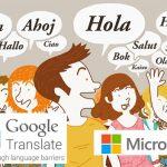 Apple necesita solución para competir con GOOGLE translate y Skype Translator