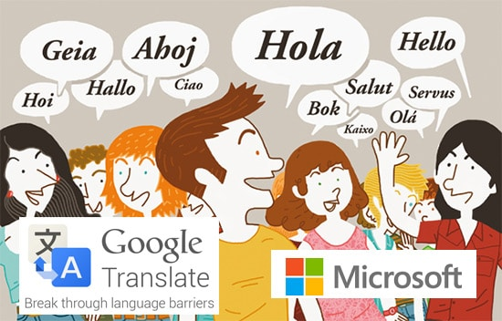idiomasgoogleandmicrosoft