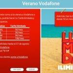 Vodafone ofrecerá llamadas ilimitadas hasta final de Agosto de 2013 añadiendo entre 5€ y 10€ a la tarifa contratada.