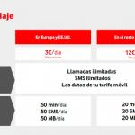 VODAFONE anuncia roaming con las mismas tarifas a cambio de 3€/día en tarifas RED.