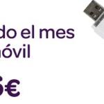 Carrefour movil ofrece 300MB por 6€ sin cobrar exceso de trafico.  Prepago incluido!