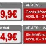 Vodafone ofrecerá a partir de Septiembre ADSL y telefonia fija sin cuota de linea hasta un 40% mas barato que Telefonica.