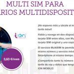 El servicio multi SIM de ION MOBILE al nivel de las operadoras.