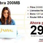 JAZZTEL comercializa 200MB simétricos en algunos puntos de España a un precio sorprendente. ¿Cual es el limite?