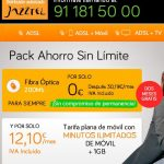 JAZZTEL ofrece sin permanencia su fibra y permite probar la conexión 2 meses.