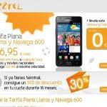 Jazztel amplia al 30% el descuento por evitar subvencionar los móviles.