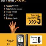 Jazztel reacciona compitiendo con las OMV low cost con una tarifa de 5c/min con consumo mínimo de 3€/mes pero subvencionando terminales con permanencia de tan solo 12 meses.