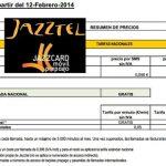Jazztel volverá a modificar sus tarifas 12 de Febrero incrementando coste SMS y con limites en las llamadas gratuitas entre JAZZTEL.