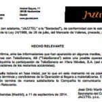 Jazztel podría intentar negociar la compra de YOIGO.