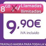 JETNET comercializa para siempre en verano 8GB e ilimitadas 9,95€