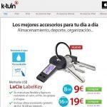 Un USB para el verano en K-tuin para tu llavero por menos de 10€.