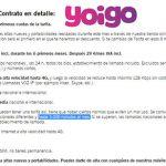 La SINFIN de YOIGO tendrá limites: 5000 minutos al mes.