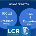 LCR movil consciente que hay que ofrecer 2 tarifas: Sin o con Establecimiento.