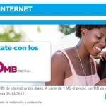 Lebara lanza un bono de internet de 5€ con 500MB y bonos de voz no acumulables 10€ 104 minutos al mes.