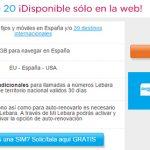 LEBARA responde a LYCAMOBILE con mejoras en sus tarifas: 15€ 500 minutos y 1GB de datos.