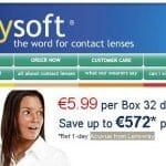 Lentillas diarias economicas por menos de 10€/mes con transporteincluido.