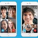 Skype lanza llamadas grupales en el móvil.