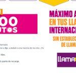 LlamaYa lanza un bono de 1000 minutos por 10€ a algunos países: Puede ser interesante para algunos clientes.