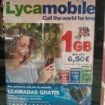 Lycamobile tiene una tarifa de 2GB por 11,5€/mes para los que solo navegan.