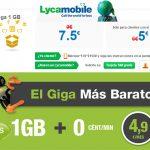 """HITS MOBILE y LYCAMOBILE compiten con MASMOVIL con ofertas """"temporales"""" con 1GB desde 4,9€/mes"""