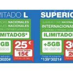 LYCAMOBILE lanza nuevos bonos : 5 GB con ILIMITADAS por 15 €