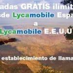 LycaMobile estrena su OMV en USA regalando las llamadas entre Lycamobile España y LycaMobile USA.