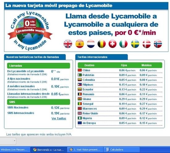 lycaspain