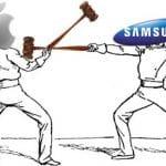 Sigue la guerra entre Samsung y Apple: 128 millones de euros