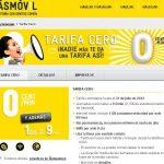 Masmovil sorprende al mercado con la tarifa CERO con un bono de 1GB por 9€/mes compitiendo con YOIGO entre otros.