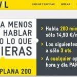 MASMOVIL se moviliza: Su primera tarifa plana por 14,9€ 200 min y su primer bono de 5GB por 29,9€