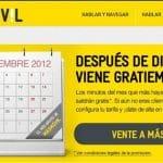 Masmovil regalara en Enero de 2013 el mes de más consumo del 2012 de sus clientes.