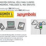 Los clientes de MASMOVIL con la lectura gracias a un acuerdo con 24Symbols. Primer mes gratis.