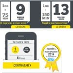 MASMOVIL lanza la tarifas con el GB más barato del mercado: 5€/mes 1GB impuestos incluidos.