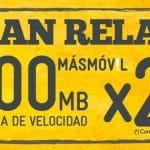 MASMOVIL lanza su bono RELAX con reducción de velocidad 200MB. ¡Muy buena idea!