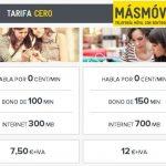MASMOVIL mejora su oferta de prepago con bonos de voz y datos.