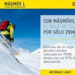 MASMOVIL nos permite pasar unas mejores navidades con un traje de 700€ por 299€.