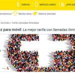 MASMOVIL lanza una tarifa ilimitada con 2GB por 18,9€