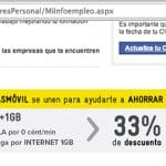 MASMOVIL llega a un acuerdo con Infoempleo para ofrecer para toda la vida 1GB por 6€ en su tarifa CERO.